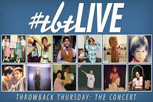 #tbtLIVE Throwback Thursday: The Concert