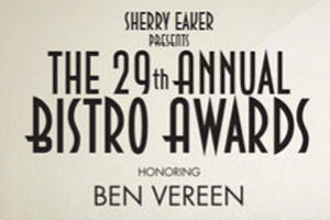 The 29th Annual Bistro Awards