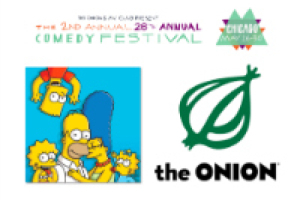 The 2nd Annual 26th Annual Comedy Festival: The Simpsons and Onion Writers In-Converation
