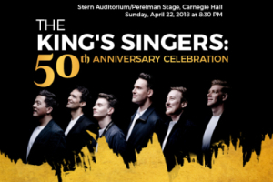 The King's Singers: 50th Anniversary Celebration