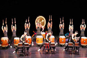 The Tamagawa University Taiko Dance Group