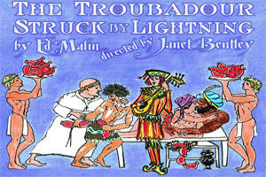 The Troubadour Struck By Lightning
