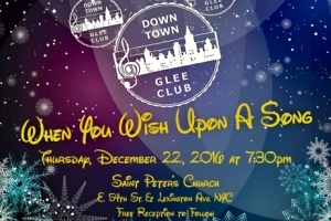 When You Wish Upon a Song - The Down Town Glee Club Winter Concert