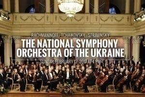 The National Symphony Orchestra of the Ukraine in Concert