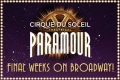 Cirque du Soleil Paramour Tickets - New York City
