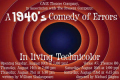 A 1940's Comedy of Errors Tickets - New York City