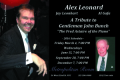 A Tribute to Gentleman John Bunch Tickets - New York