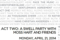 Act Two: A Swell Party With Moss Hart and Friends Tickets - New York