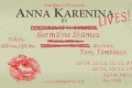 Anna Karenina Lives! Tickets - Off-Off-Broadway
