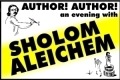 Author! Author! - An Evening With Sholom Aleichem Tickets - Los Angeles