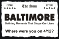 Baltimore: Defining Moments That Shape our Lives Tickets - Los Angeles