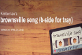 brownsville song (b-side for tray) Tickets - Washington