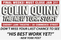 Colin Quinn The New York Story (Return Engagement) Tickets - New York City