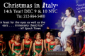"Cristina Fontanelli's ""Christmas in Italy®"" Tickets - New York City"
