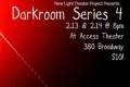 Darkroom Series 4 Tickets - New York