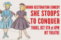 Drunk Restoration Comedy - She Stoops to Conquer Tickets - Off-Off-Broadway