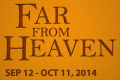 Far From Heaven Tickets - Boston