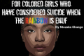 For Colored Girls Who Have Considered Suicide When The Rainbow Is Enuf Tickets - New York City