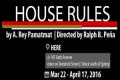 House Rules Tickets - New York