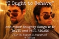 I Ought to Behave (and other Naughty Songs) Tickets - New York