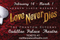Love Never Dies Tickets - Illinois