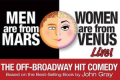 Men are From Mars, Women are From Venus Live! Tickets - New York City