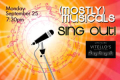 (mostly)musicals: SING OUT! Tickets - Los Angeles