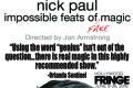 Nick Paul: Impossible Feats of Fake Magic Tickets - Los Angeles