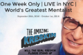 The Amazing Kreskin: Will The Real Kreskin Please Stand Up Tickets - New York City
