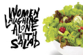 Women Laughing Alone With Salad Tickets - Los Angeles