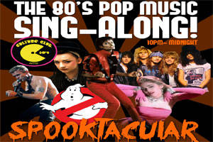 80's Spooktacular Pop Sing-Along