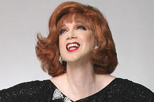 Charles Busch: The Lady at the Mic, Accompanied on the piano by Tom Judson