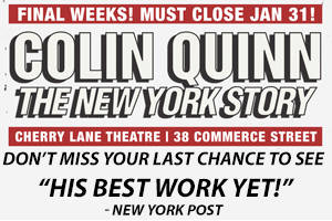 Colin Quinn The New York Story (Return Engagement)