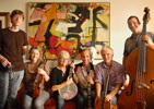 Dick Cavett hosts Audrey Flack and the History of Art String Band