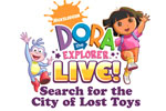 Dora The Explorer Live! Search for the City of Lost Toys