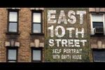 East 10th Street - Self Portrait with Empty House