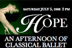 HOPE: An Afternoon of Classical Ballet