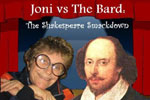 Joni vs. The Bard: The Shakespeare Smackdown