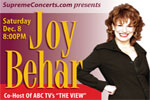 Joy Behar with Madame and Joe Kovacs