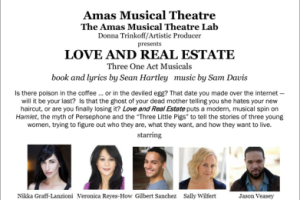 Love and Real Estate (Staged Readings)