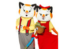 Lowly Worm and Huckle Cat's Busytown Busy