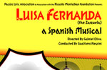Luisa Fernanda, the Zarzuela-a Spanish Musical