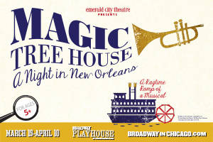 Magic Tree House: A Night in New Orleans