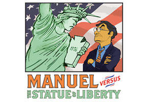 Manuel vs. The Statue of Liberty