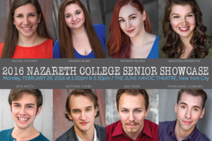 Nazareth College Theatre and Dance B.F.A. Showcase