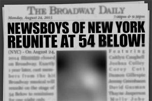 Newsboys of New York Reunite