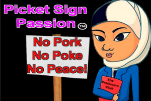 Picket Sign Passion