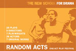 Random Acts! One-Act Play Festival