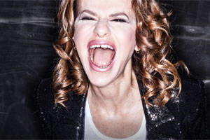 Sandra Bernhard is #blessed