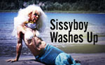 Sissyboy Washes Up